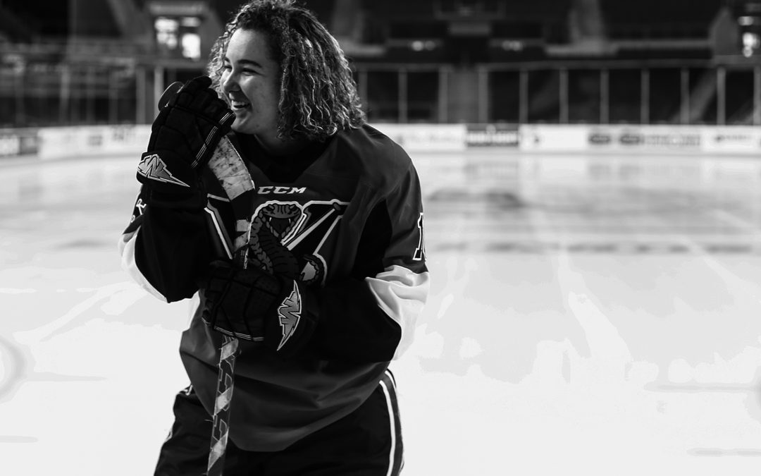 Dominique Magee: Hockey Inspired Erie Senior Portraits